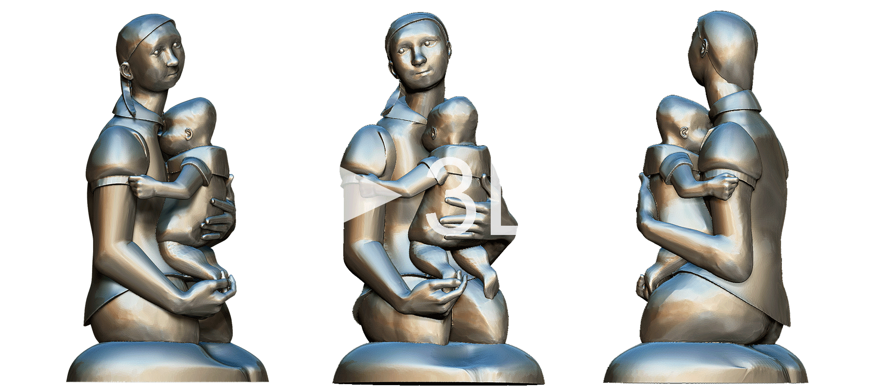 3d-sculpture from picture