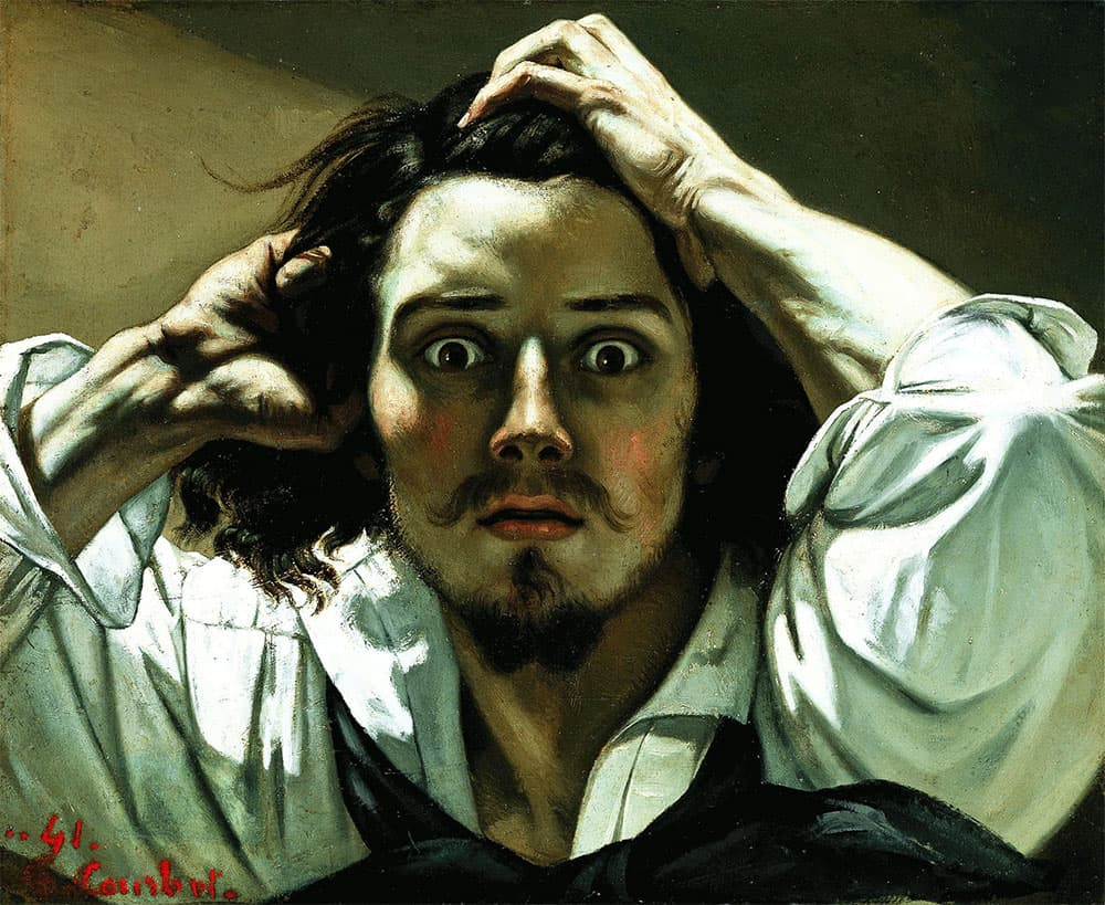 3d sculpture from picture gustave Courbet