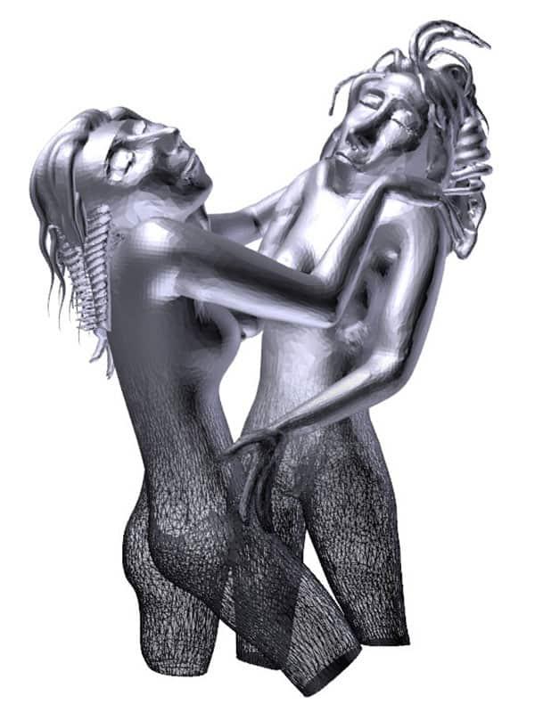 3d model from artwork karl hofer